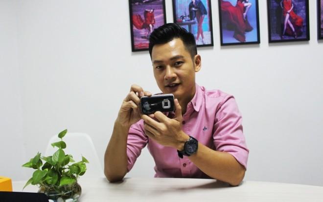 Ca sĩ Đức Tuấn lộ điện thoại Nokia phiên bản Lý Tiểu Long - ảnh 8