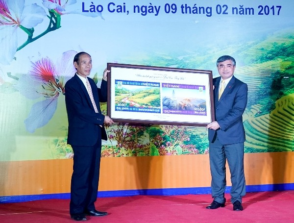 """Phát hành đặc biệt bộ tem bưu chính """"Năm du lịch quốc gia 2017 – Lào Cai – Tây Bắc"""" - ảnh 2"""