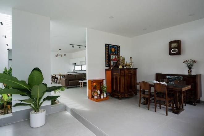 Ngỡ ngàng 'nhà cấp 4' đẹp như biệt thự ở Bình Thuận - ảnh 6