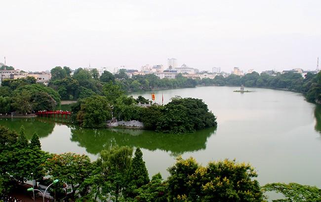 Diện mạo Hồ Hoàn Kiếm trước khi có thông tin nạo vét  - ảnh 12