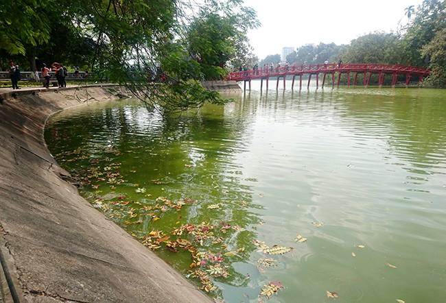 Diện mạo Hồ Hoàn Kiếm trước khi có thông tin nạo vét  - ảnh 7