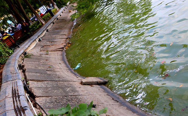 Diện mạo Hồ Hoàn Kiếm trước khi có thông tin nạo vét  - ảnh 8