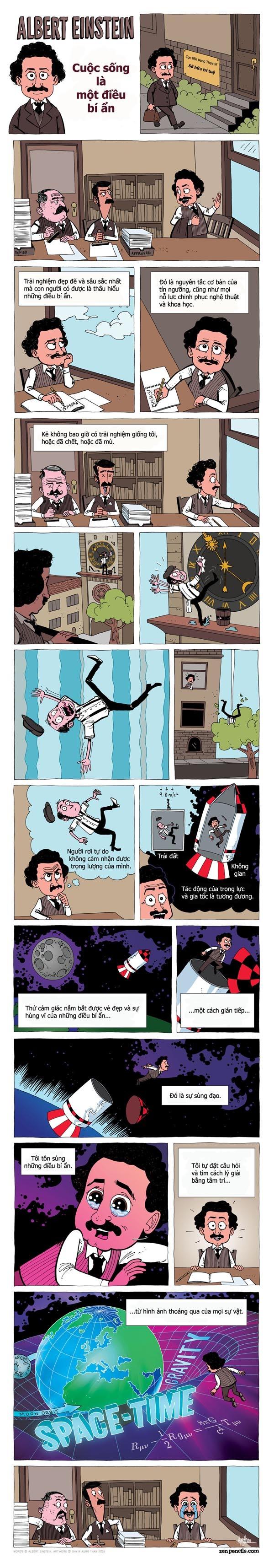 Albert Einstein thành thiên tài nhờ đam mê những điều bí ẩn - ảnh 1
