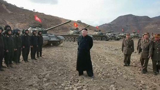 Ông Kim Jong-un ca ngợi sức mạnh của xe tăng Triều Tiên - ảnh 3