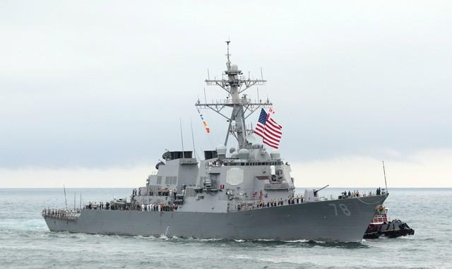Chân dung nữ chỉ huy chiến hạm Mỹ nã tên lửa vào Syria - ảnh 1
