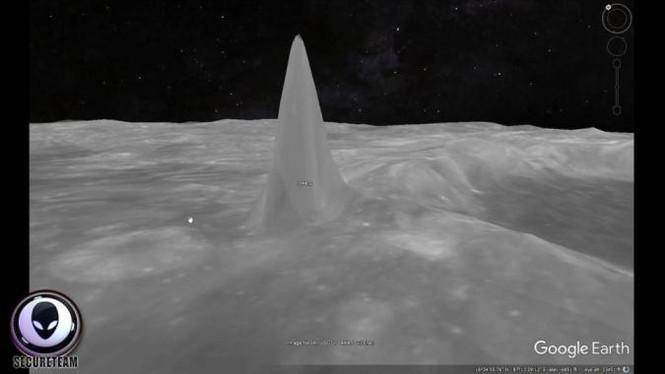 Người ngoài hành tinh xây 6 tòa tháp kỳ lạ trên Mặt Trăng? - ảnh 1