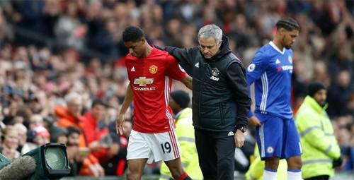 Mourinho lý giải nguyên nhân xếp Rashford đá chính trước Chelsea - ảnh 1