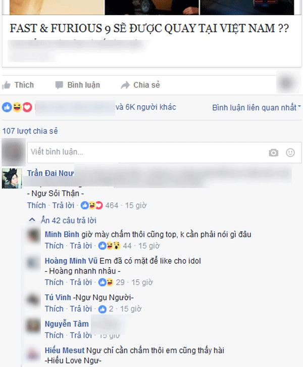"""""""Thánh top comment"""" chỉ chấm một cái đã có cả trăm like - ảnh 2"""