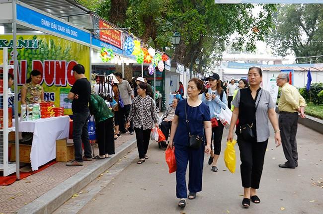 Hơn 300 gian hàng tham gia hội chợ nông sản   - ảnh 14