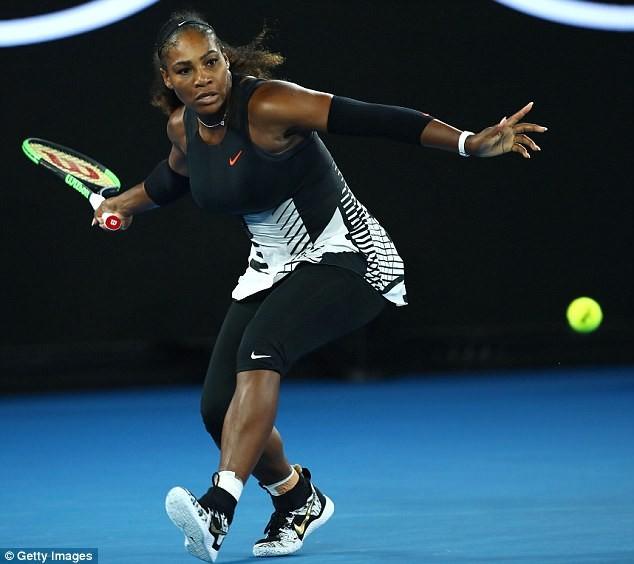 Tay vợt Serena Williams gây sốc khi tiết lộ mang bầu 5 tháng - ảnh 4