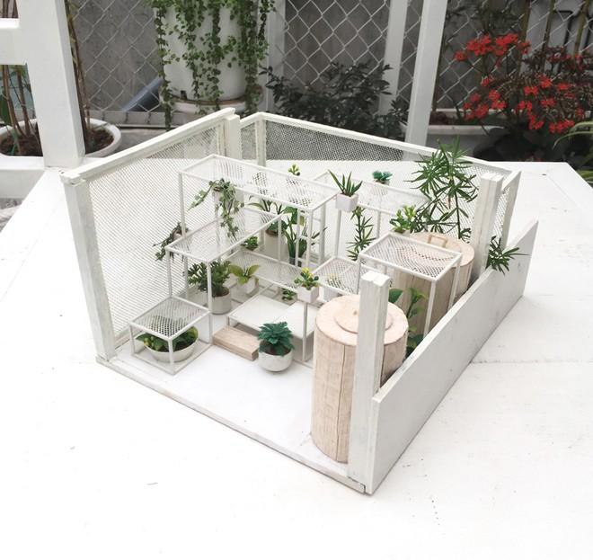 Khu 'vườn sinh thái' đặc biệt trên nóc nhà giàu Hà Nội - ảnh 7