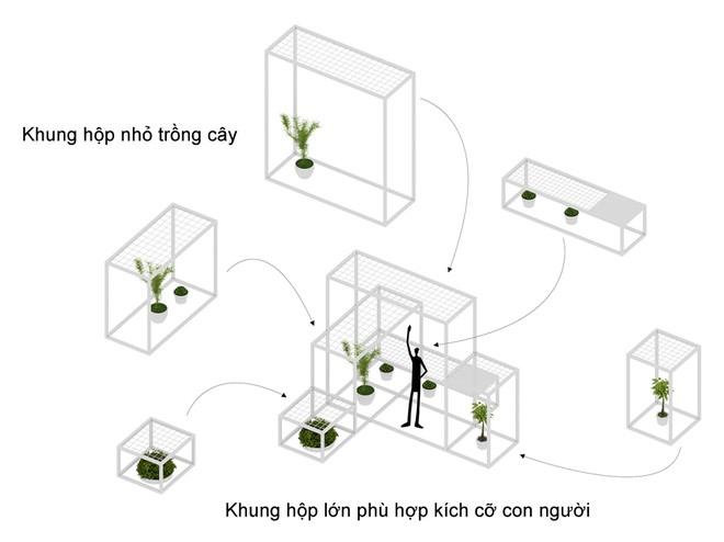 Khu 'vườn sinh thái' đặc biệt trên nóc nhà giàu Hà Nội - ảnh 8