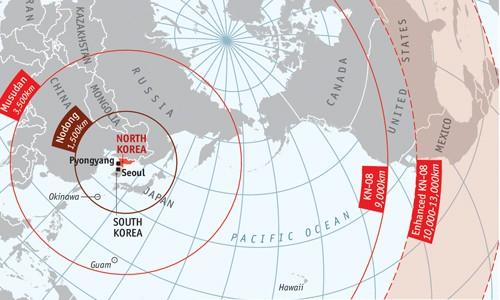 Ông Trump chỉ có 10 phút ra quyết định nếu Triều Tiên phóng tên lửa - ảnh 1