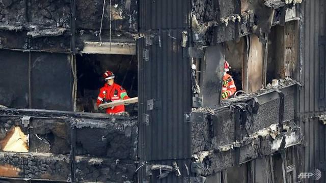 Bên trong căn hộ chung cư 24 tầng bị hỏa hoạn ở London - ảnh 11