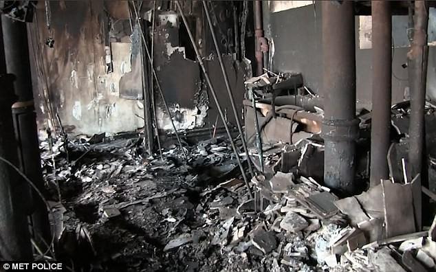Bên trong căn hộ chung cư 24 tầng bị hỏa hoạn ở London - ảnh 6