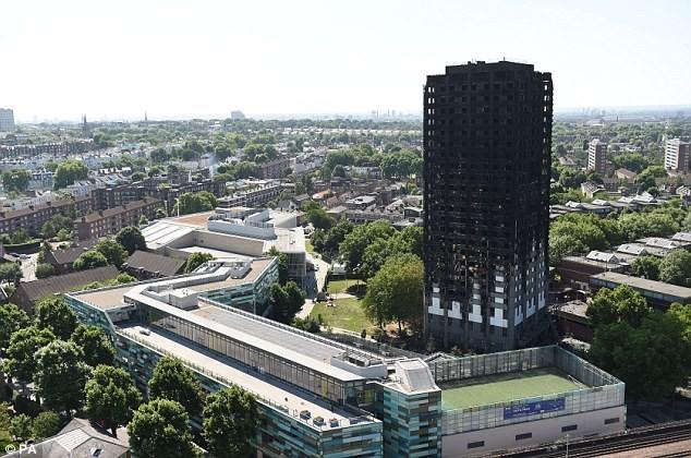 Bên trong căn hộ chung cư 24 tầng bị hỏa hoạn ở London - ảnh 8
