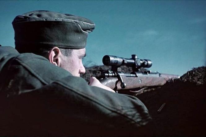 Hé lộ loạt ảnh các sát thủ bắn tỉa của Đức trong Thế chiến 2 - ảnh 11