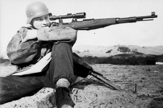 Hé lộ loạt ảnh các sát thủ bắn tỉa của Đức trong Thế chiến 2 - ảnh 2