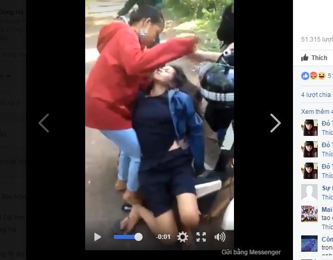 Vụ nữ sinh bị đánh hội đồng đến ngất xỉu: Nhiều đối tượng bỏ trốn - ảnh 1