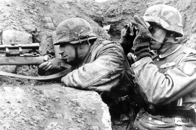 Hé lộ loạt ảnh các sát thủ bắn tỉa của Đức trong Thế chiến 2 - ảnh 9