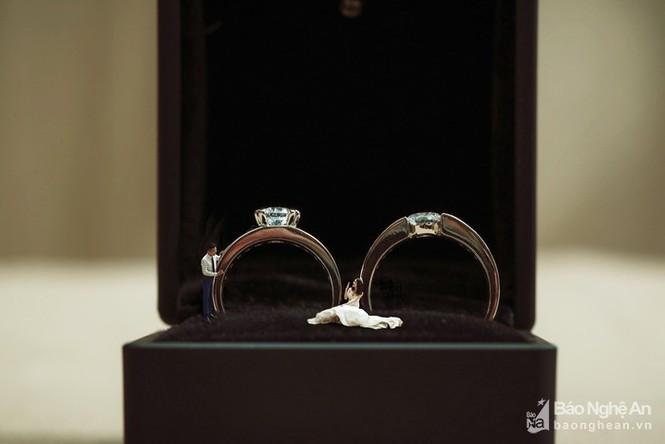 Độc đáo bộ ảnh cưới 'tí hon' của cặp đôi ở Nghệ An - ảnh 9