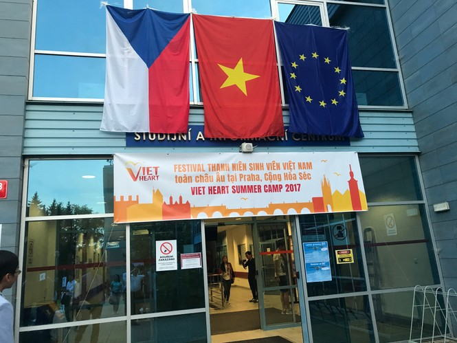 Khai mạc Trại hè thanh niên, sinh viên Việt Nam toàn châu Âu - ảnh 1