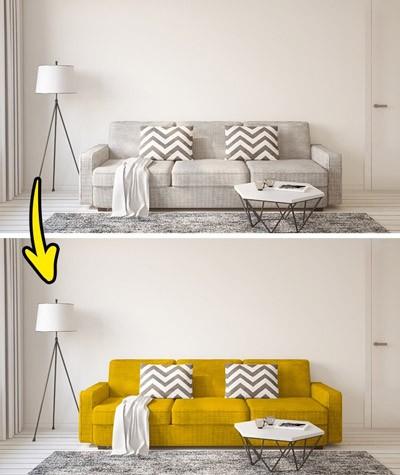 Những cách tân nhỏ giúp ngôi nhà tỏa sáng - ảnh 1