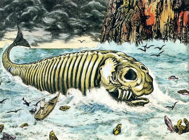 """Bí ẩn lời nguyền đáng sợ của """"quái vật biển"""" Bakekujira - ảnh 1"""