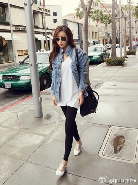 Cuối tuần xuống phố cực chất với quần jeans - ảnh 23