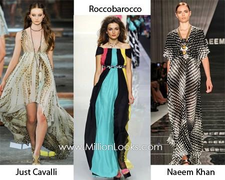 Xu hướng thời trang váy xuân hè năm 2012 - ảnh 2