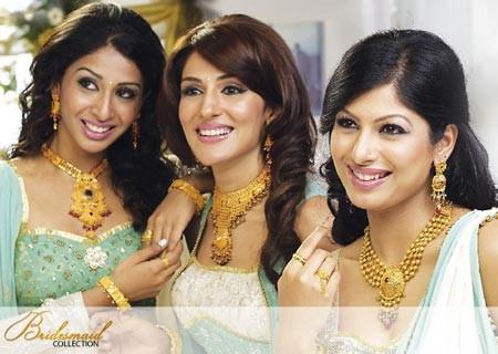 Sở hữu vàng đã trở thành nét truyền thống lâu đời của Ấn Độ. Ảnh: blogspot.