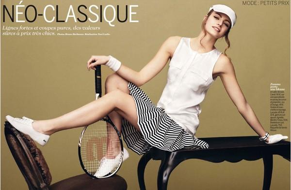 Tay vợt Zuzana Kopuncova đẹp hơn cả siêu mẫu - ảnh 1