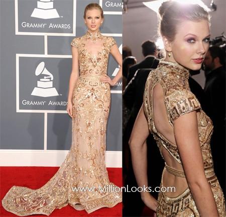Những chiếc váy hàng hiệu tại lễ trao giải Grammy - ảnh 4