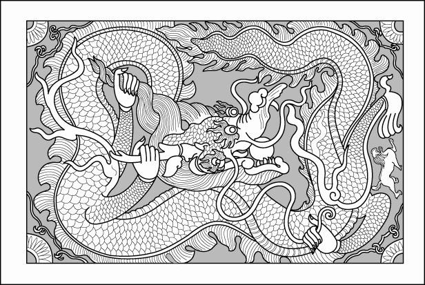 'Bí ẩn' sập rồng có đôi tay phụ nữ ở đền vua Đinh - ảnh 2