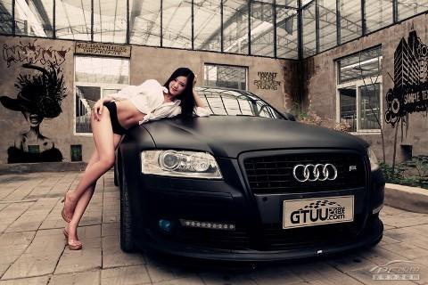 Mỹ nữ quyến rũ bên Audi A8L - ảnh 6