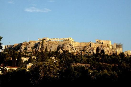 Ngọn đồi Acropolis với quần thể kiến trúc hoành tráng