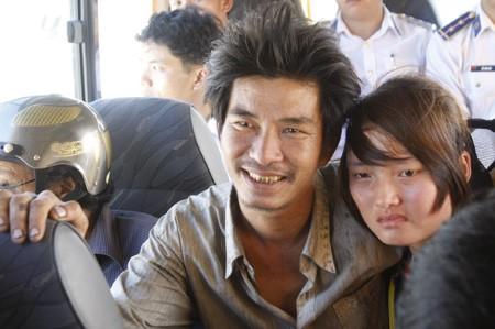 Quảng Nam: 11 ngư dân gặp nạn trở về an toàn - ảnh 1