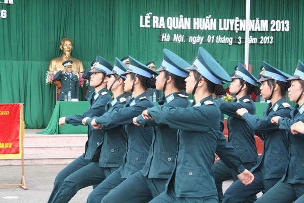 Các đơn vị Phòng không - Không quân ra quân huấn luyện - ảnh 6