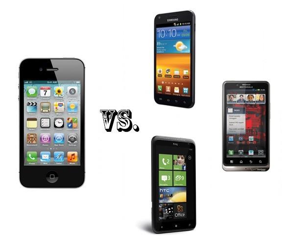 iPhone 4S 'đọ tài' với các đối thủ - ảnh 1