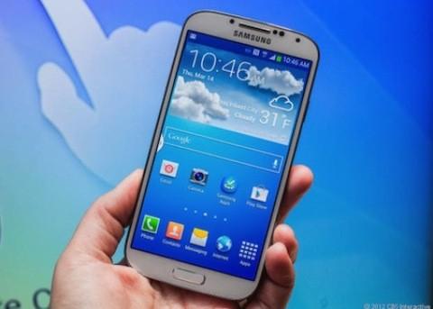 Mặt trước Galaxy S4