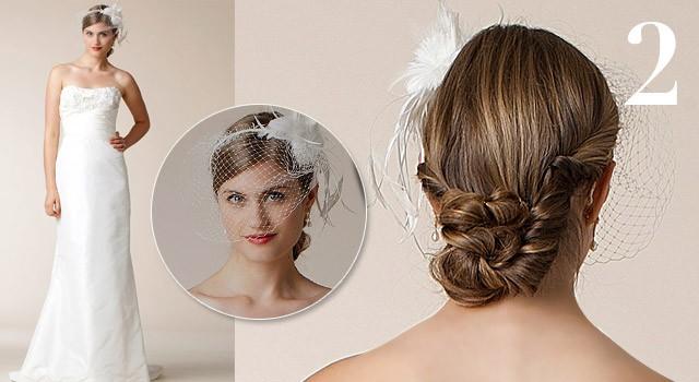 Mười kiểu tóc cô dâu 'hot' năm 2011 - ảnh 1