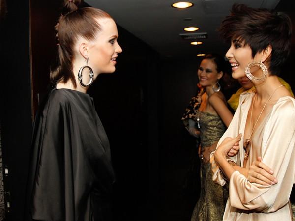 Hoàng Thùy chia sẻ kinh nghiệm với các thí sinh của Germany's Next Top Model 2012