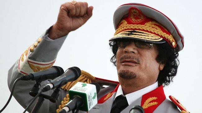 Tổng thống Gaddafi thủa còn nắm quyền