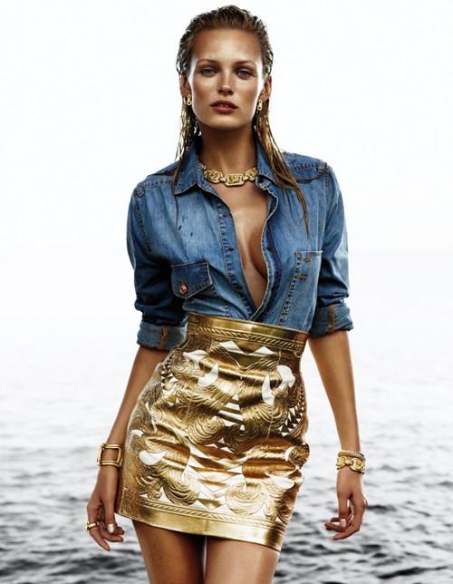 Ngắm 'nữ thần mặt trời' trêntạp chí Vogue - ảnh 2