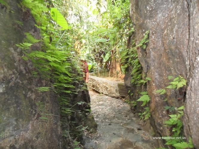 Một người làm công của ông Đức cho biết, để có lối đi và đào được một hệ thống hang động chằng chịt, ông Đức đã thuê 30 người đục đẽo đá trong vòng 3 năm