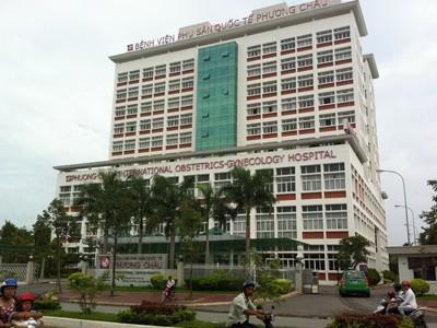 Bệnh viện Phụ sản Quốc tế Phương Châu ở Cần Thơ, nơi bà Ly nằm điều trị từ ngày 13 đến 25/3. Ảnh: Sáu Nghệ