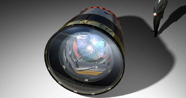 Camera 'khủng' nhất thế giới - ảnh 1