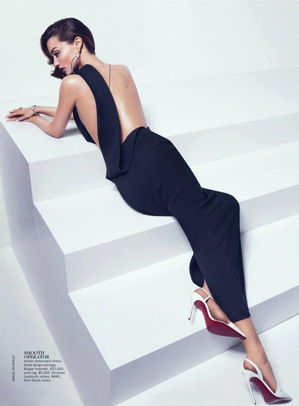 'Thiên thần' Miranda Kerr nóng bỏng trên Vogue - ảnh 4