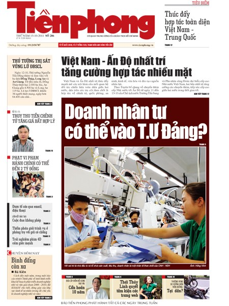 Đón đọc Tiền Phong nhật báo 286 - ảnh 1