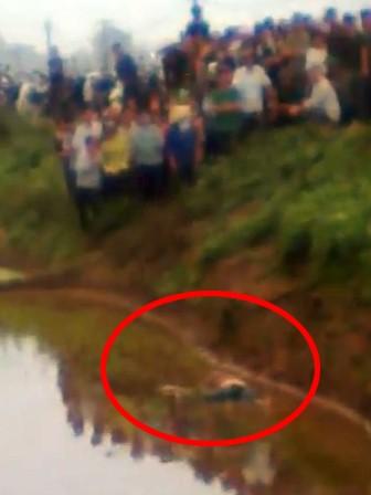 Hiện trường nơi phát hiện xác nạn nhân